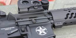 Tactical Black Firearms Rifle